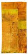 Essence Of Yellow Beach Towel