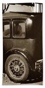 Essex Super Six In Carmel Dairy 1933 Beach Towel