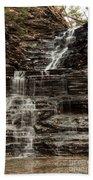 Eternal Flame Waterfalls Beach Towel
