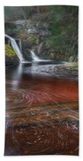Ethereal Autumn Square Beach Towel