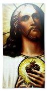 Ethereal Jesus Beach Towel