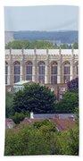 Eton College Chapel Beach Towel
