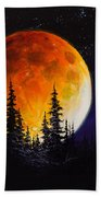 Ettenmoors Moon Beach Towel by C Steele