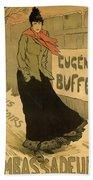 Eugenie Buffet Poster Beach Towel