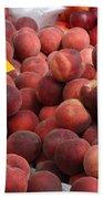European Markets - Peaches And Nectarines Beach Towel