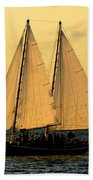 More Sails In Key West Beach Towel