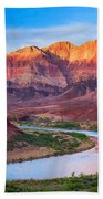 Evening At Cardenas Beach Towel by Inge Johnsson