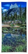 Evening At Cathedral Lakes Beach Towel