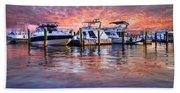 Evening Harbor Beach Sheet