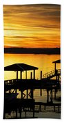 Evening On The May Beach Towel