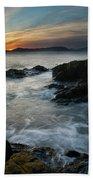 Evening Turmoil Beach Towel