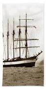 Everett G. Griggs Sailing Ship Washington State 1905 Beach Towel