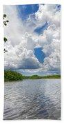 Everglades Lake - 0278 Beach Towel