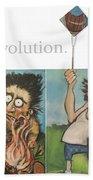 Evolution The Poster Beach Towel