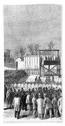 Execution Of Henry Wirzhenry Wirz Beach Towel