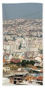 Exiting Lisbon By Plane Beach Towel