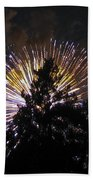 Exploding Tree Beach Towel