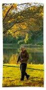 Exploring Autumn Light Beach Towel by Steve Harrington