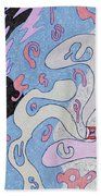 Explosion In Space Beach Towel