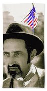 Extra With Flag In Hat The Great White Hope Set Globe Arizona 1969-2008 Beach Towel