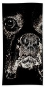 Eyes In The Dark Beach Towel