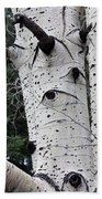 Eyes Of The Trees Beach Towel