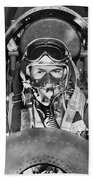 F-84 Thunderjet Pilot Beach Towel