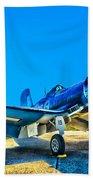 F4u Corsair My Marines Dream  Beach Towel