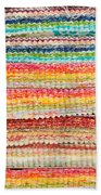 Fabric Colours Beach Towel by Tom Gowanlock