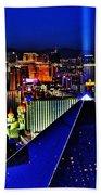 Fabulous Las Vegas Beach Towel