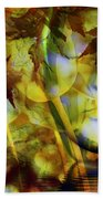 Face In The Rock Dreams Of Tulips Beach Towel