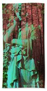 Fade Into The Woods Beach Towel