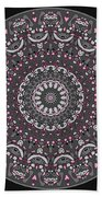 Faded Cedar No. 1 Mandala Beach Towel