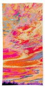 Fairgrounds Sky Beach Towel