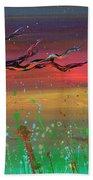 Fairy Moon Beach Towel