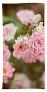 Fairy Roses Beach Towel