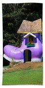 Fairy Tale Shoe House Beach Towel