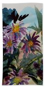 Fairyland Asters Beach Towel