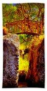 Fairytale Bridge Beach Towel