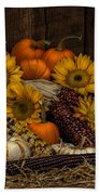 Fall Assortment Beach Towel