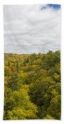 Fall Color Hills Mi 1 Beach Towel