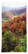 Fall Colors Along The Blueridge Beach Towel