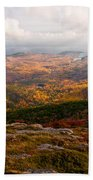 Fall Colors Of Acadia 6656 Beach Towel