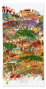 Fall Colours Beach Towel