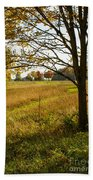 Fall Day In The Ozarks Beach Towel