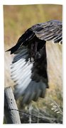 Fall Flight Beach Towel