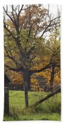 Fall Foilage In Country Beach Towel