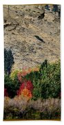 Fall In Carson Valley  Beach Towel