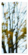 Fall In Motion Beach Towel