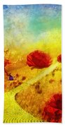 Fall In Oz Beach Towel
